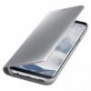 Samsung Clear View Cover EF-ZG950CS puzdro na Galaxy S8 strieborné