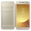 Samsung flipový kryt zlatý pro Samsung Galaxy J5 2017