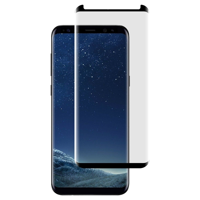 Ochranní sklo CaseFit pro Samsung Galaxy S8 Plus černé