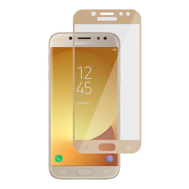 Ochranné sklo na Samsung Galaxy J5 2017 zlaté