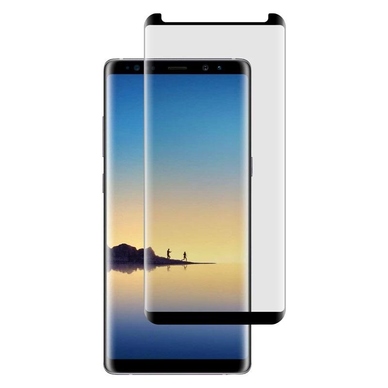 Ochranné sklo CaseFit na Samsung Galaxy Note8 čierne
