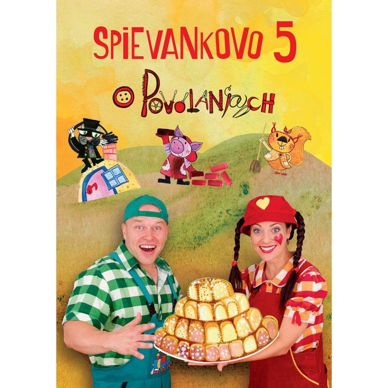 DVD Spievankovo 5 - O povolaniach
