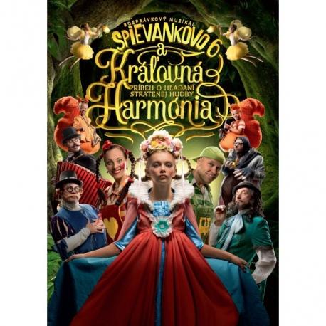 DVD Spievankovo a královna Harmonie