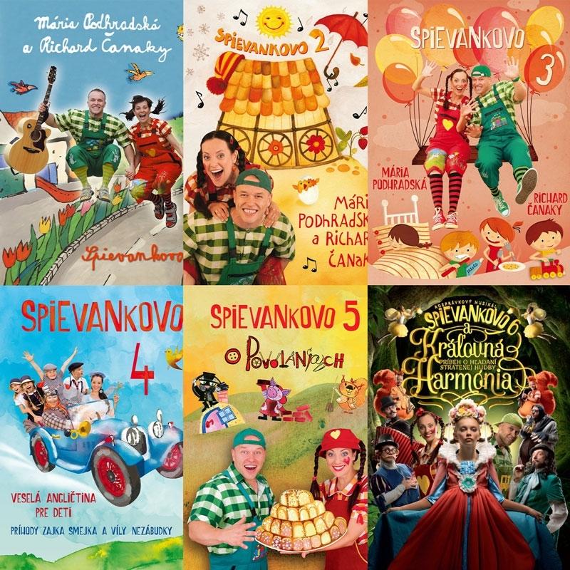 DVD Spievankovo kolekcia