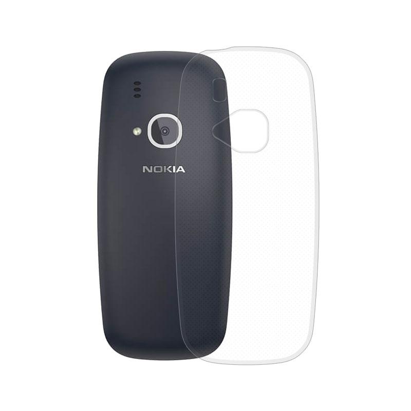 Gumené puzdro na Nokia 3310 2017 transparentné