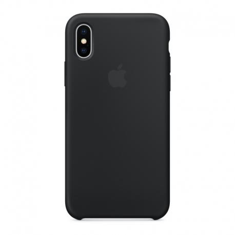 Apple iPhone XS / X silikónové puzdro čierne
