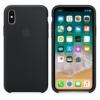 Apple iPhone X silikonové pouzdro černé