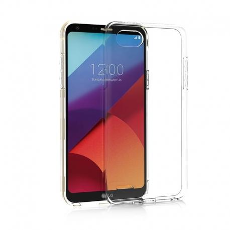 Silikonové pouzdro vůle pro LG Q6 transparentní