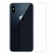 Gumené puzdro na Apple iPhone XS / X transparentné