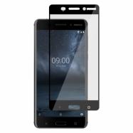 Ochranné sklo na Nokia 6 čierne
