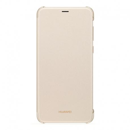 Huawei Flip cover puzdro na P Smart zlaté