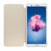 Huawei Flip cover pro Huawei P Smart zlatý