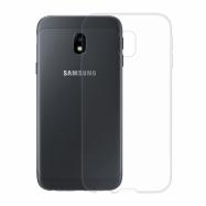 Gumové pouzdro pro Samsung Galaxy J3 2017 transparentní