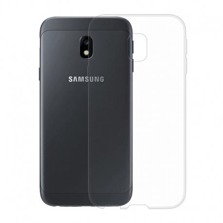 Gumené puzdro na Samsung Galaxy J3 2017 transparentné