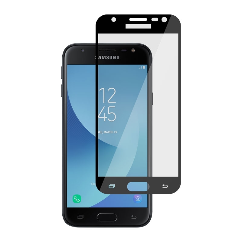 Ochranní sklo pro Samsung Galaxy J3 2017 černé