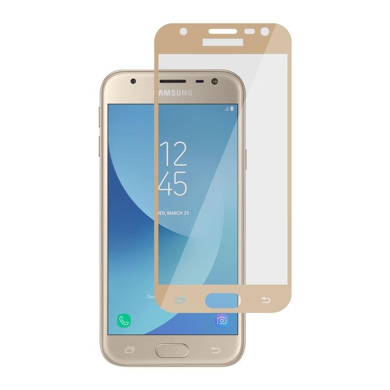 Ochranné sklo na Samsung Galaxy J3 2017 zlaté
