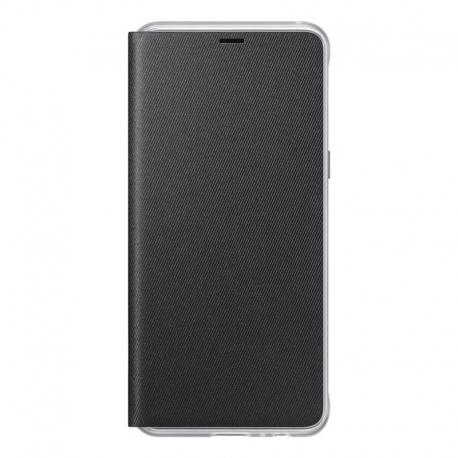 Samsung Neon flipový kryt pro Samsung Galaxy A8 černý