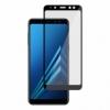 Ochranné sklo na Samsung Galaxy A8 čierne