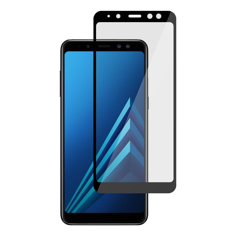 Ochranní sklo pro Samsung Galaxy A8 černé