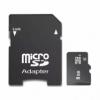 Micro SDHC paměťová karta 8GB class 4 s adaptérem