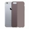 Gumové pouzdro pro Apple iPhone 6 tmavě šedé