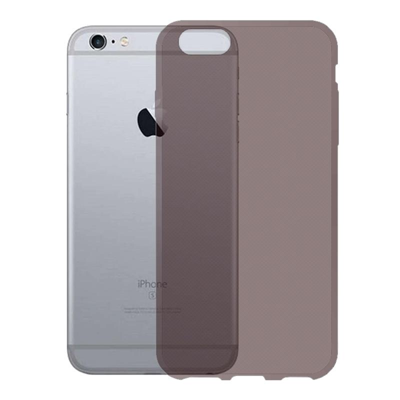 Gumené puzdro na Apple iPhone 6 4.7 tmavo šedé