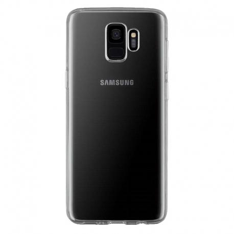 Gumené puzdro na Samsung Galaxy S9 transparentné