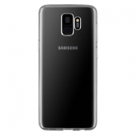Gumové pouzdro Samsung Galaxy S9 transparentní