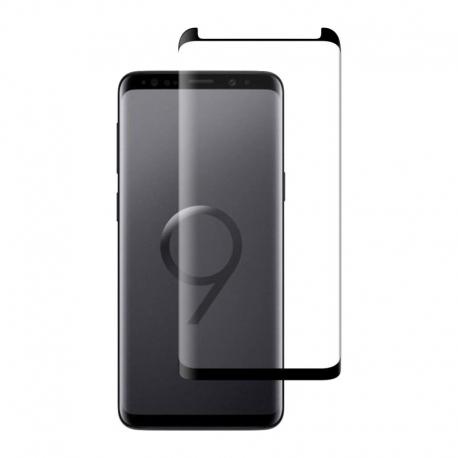Ochranné sklo CaseFit na Samsung Galaxy S9 čierne