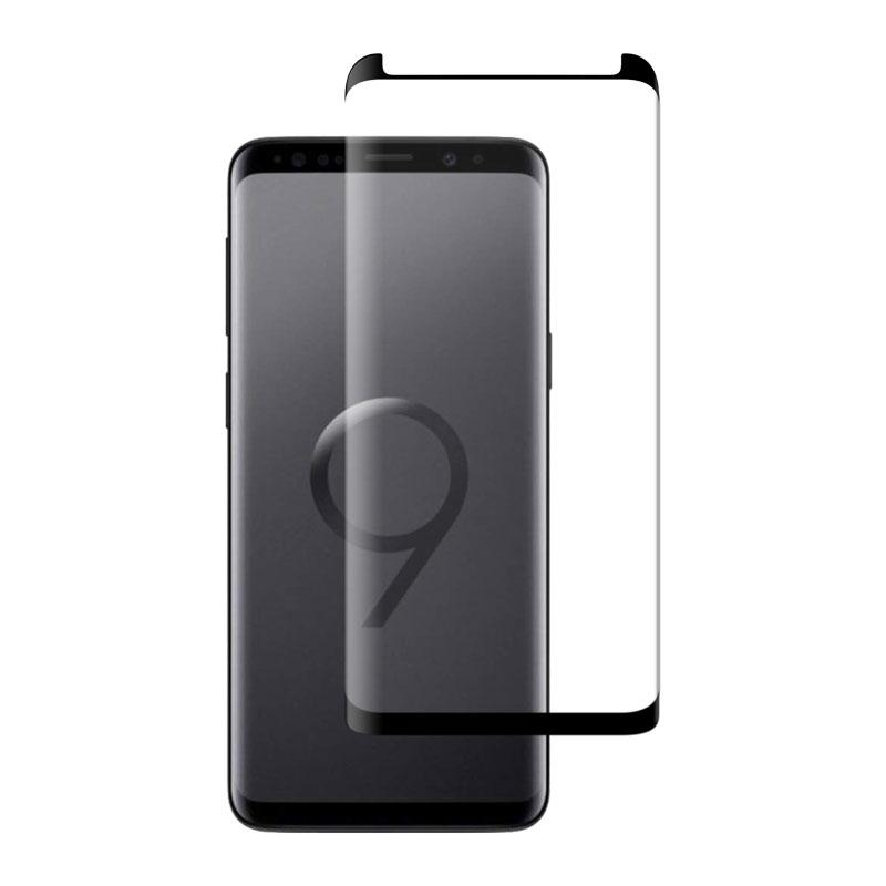 CaseFit Ochranní sklo pro Samsung Galaxy S9 černé