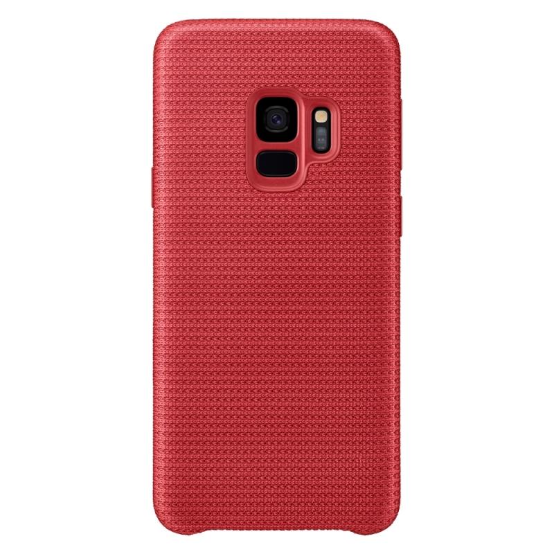 Samsung Látkový kryt pro Galaxy S9 červený