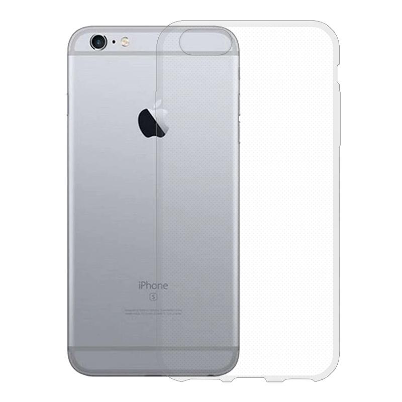 Gumové pouzdro pro Apple iPhone 6 transparentní