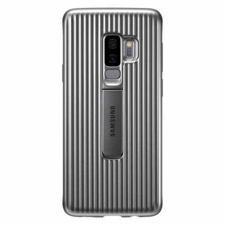 Samsung Protective Standing Cover EF-RG965CS kryt na Galaxy S9 Plus strieborný
