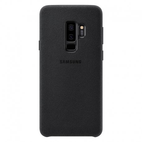 Samsung Alcantara Cover EF-XG965AB kryt na Galaxy S9 Plus čierny