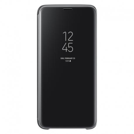 Samsung Clear View Cover EF-ZG960CB puzdro na Galaxy S9 čierne