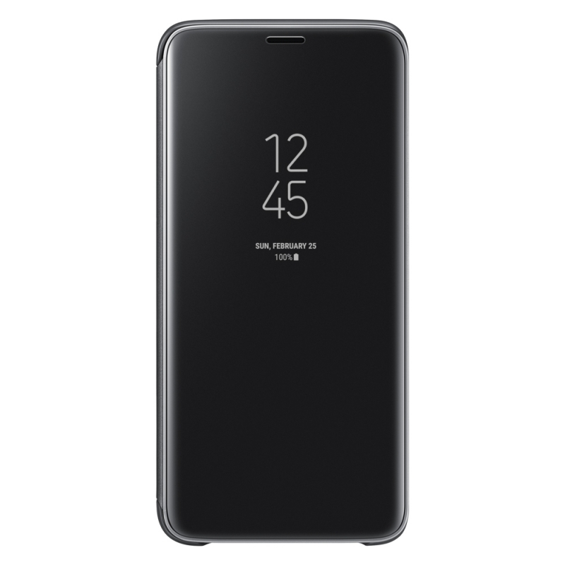 Samsung Clear View Cover pro Galaxy S9 černý