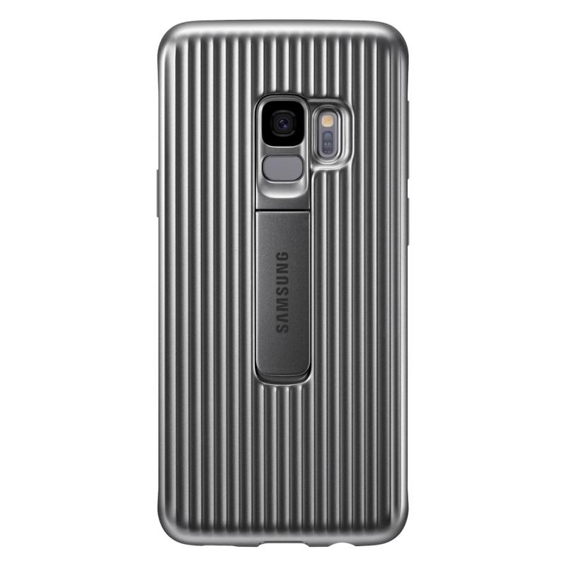 Samsung Protective Standing Cover EF-RG960CS kryt na Galaxy S9 strieborný