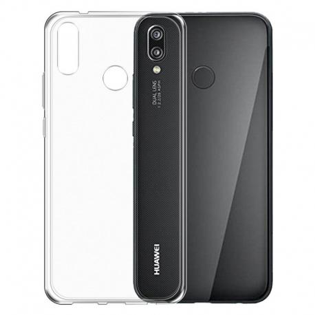 Gumené puzdro na Huawei P20 Lite transparentné