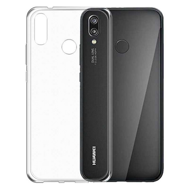 Gumové pouzdro pro Huawei P20 Lite transparentní