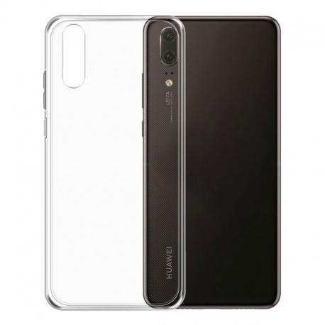 Gumené puzdro na Huawei P20 transparentné