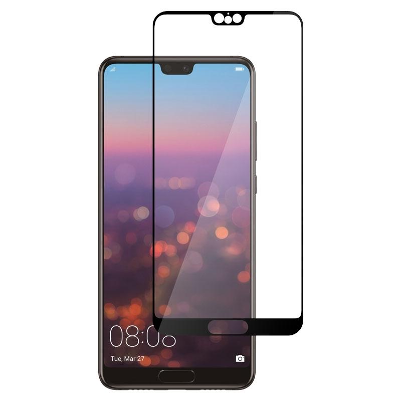 Ochranné sklo na Huawei P20 čierne