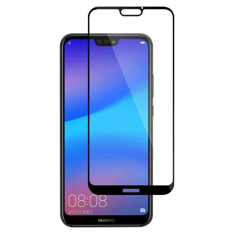 Ochranné sklo na Huawei P20 Lite čierne