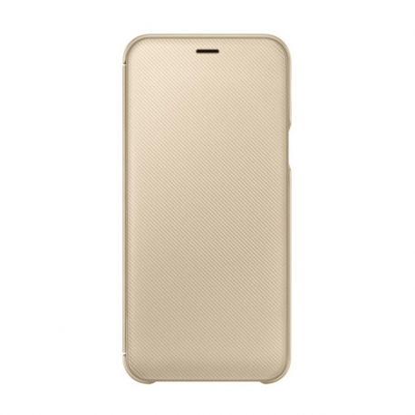 Samsung flipové kryt pro Samsung Galaxy A6 zlatý