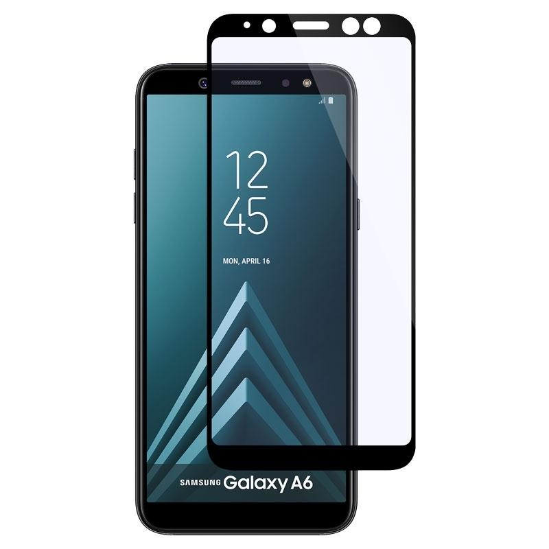 Ochranné sklo na Samsung Galaxy A6 čierne