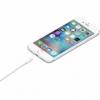Apple datový a nabíjecí kabel s lightning konektorem 2m bílý