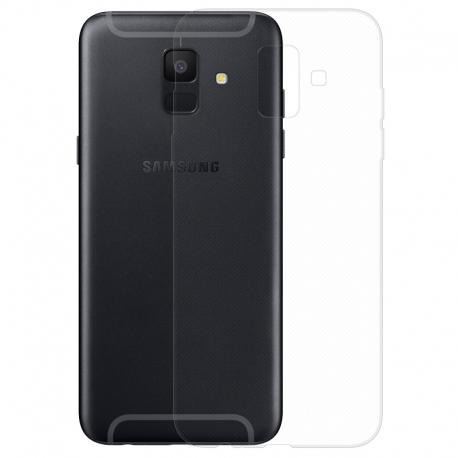 Gumové pouzdro pro Samsung Galaxy A6 transparentní