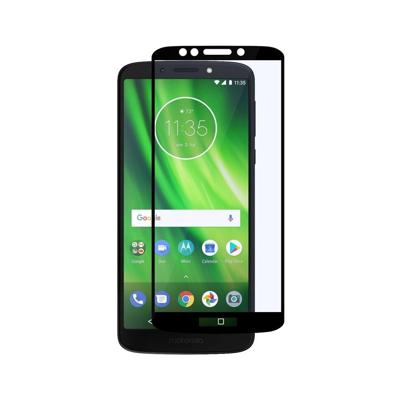 Ochranné sklo na Lenovo Moto G6 Play čierne