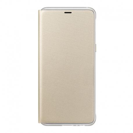 Samsung Neon flipový kryt EF-FA530PF na Galaxy A8 zlatý