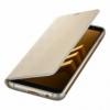 Samsung Neon flipový kryt pro Samsung Galaxy A8 zlatý
