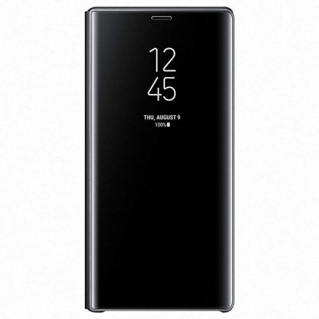 Samsung Clear View Cover EF-ZN960CB puzdro na Galaxy Note9 čierne